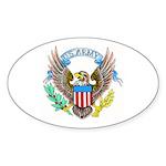 U.S. Army Eagle Oval Sticker