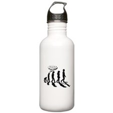 Evolutionary Quandary Water Bottle