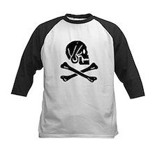 Henry Every Jolly Roger:Pirate Flag Black Baseball