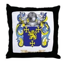 Walls Family Crest (Coat of Arms) Throw Pillow