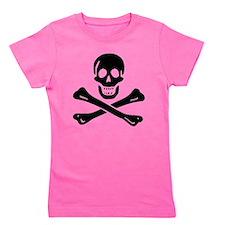 Black Sam Bellamy Jolly Roger:Pirate Flag B Girl's