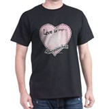 Love Is my Affenpinscher T-Shirt