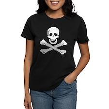 Pixel Skull White T-Shirt