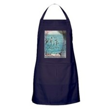Paul Klee - Twittering Machine artwor Apron (dark)