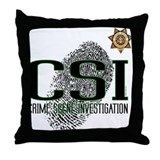 CSI Throw Pillow