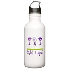 Lupus Awareness Daisy Water Bottle
