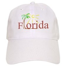 Florida Palm Baseball Cap