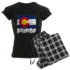 Breckenridge Grunge Flag Pajamas