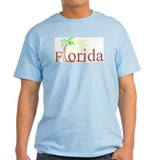 Florida Palm Ash Grey T-Shirt