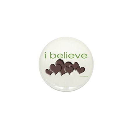 I believe in chocolate Mini Button (100 pack)