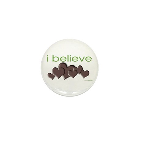 I believe in chocolate Mini Button