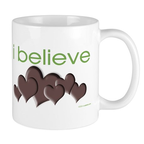 I believe in chocolate Mug