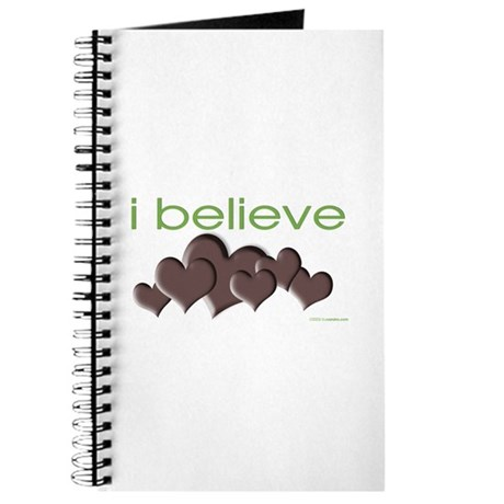 I believe in chocolate Journal