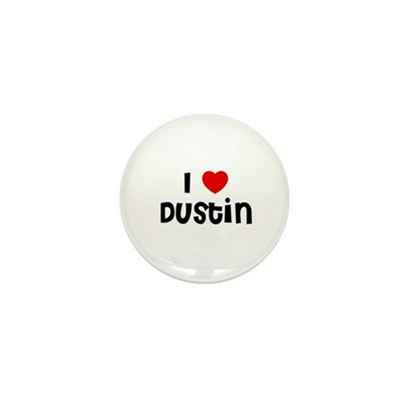 I * Dustin Mini Button (10 pack)