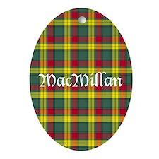 Tartan - MacMillan Ornament (Oval)