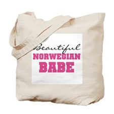 Norwegian Babe Tote Bag