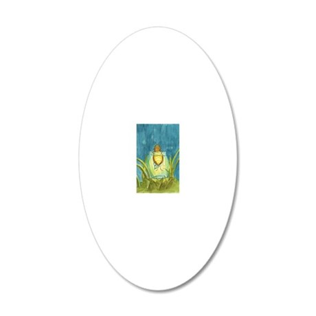 Light In A Jar 20x12 Oval Wall Decal