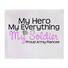 My Soldier Army FIancee.png Throw Blanket