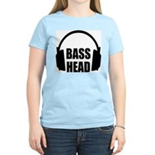 Bass Head Women's Pink T-Shirt