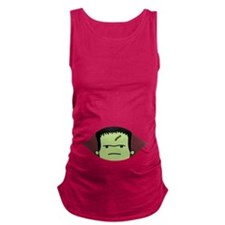 Peeking Frankenstein Maternity Tank Top
