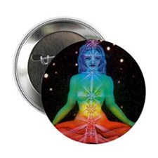 "CHAKRAS 3 2.25"" Button"