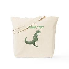 Custom T-Rex Tote Bag