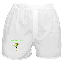 Custom Poison Dart Frog Boxer Shorts