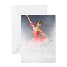 Dance Ballerina Dance Greeting Card