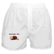 Custom Cartoon Ladybug Boxer Shorts