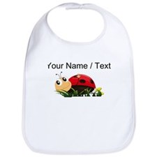 Custom Cartoon Ladybug Bib