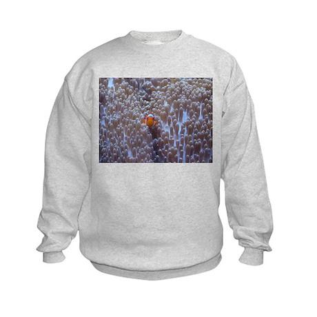 Clownfish & Anemone Kids Sweatshirt