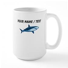 Custom Blue Bull Shark Mugs