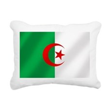 Flag of Algeria Rectangular Canvas Pillow