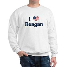 I Love Reagan Sweatshirt