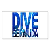 DIVE Bermuda Rectangle Decal