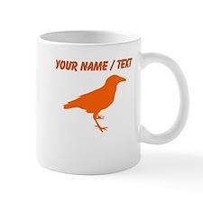 Custom Orange Raven Mugs
