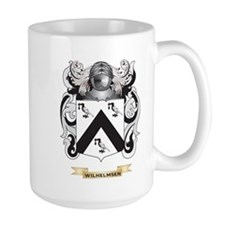 Wilhelmsen Family Crest (Coat of Arms) Mugs