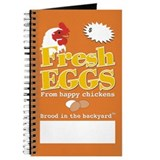 Happy Chicken Fresh Egg Journal