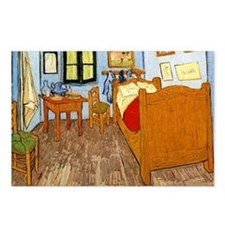 Van Gogh - Vincent's Bed  Postcards (Package of 8)