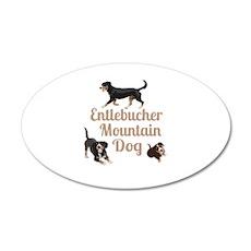 Entlebucher Mountain Dog Wall Sticker
