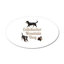 Entlebucher Mountain Dog Wall Sticker