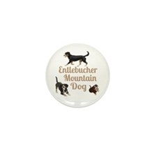 Entlebucher Mountain Dog Mini Button (10 pack)