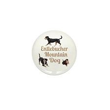 Entlebucher Mountain Dog Mini Button (10 pack)