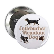 "Entlebucher Mountain Dog 2.25"" Button (10 pack)"
