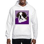 St. Bernard head study Hooded Sweatshirt