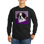 St. Bernard head study Long Sleeve Dark T-Shirt