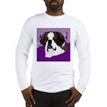 St. Bernard head study Long Sleeve T-Shirt