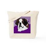 St. Bernard head study Tote Bag