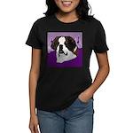 St. Bernard head study Women's Dark T-Shirt