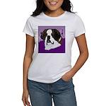 St. Bernard head study Women's T-Shirt